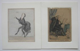 6 Prints Including 3 British Engravings
