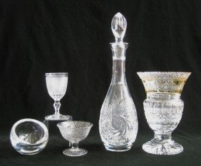 Pressed Glass Items