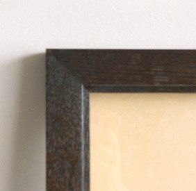 Contemporary Ebony Stained Frame