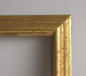 2 Traditional Gilded Gallery Frames