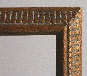 4 Dark Wood Gallery Frames