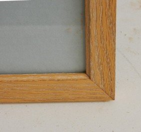 3 Contemporary Wood Gallery Frames