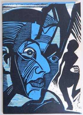 4 German Expressionist Exhibition Catalogs