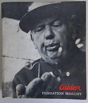 2 Books On Alexander Calder