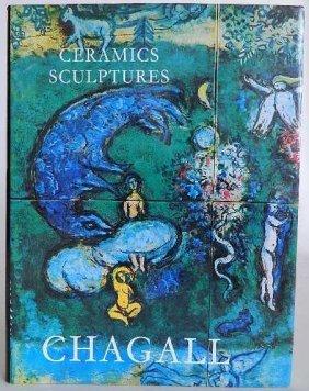 Sorlier Book- Ceramic & Sculptures Of Chagall