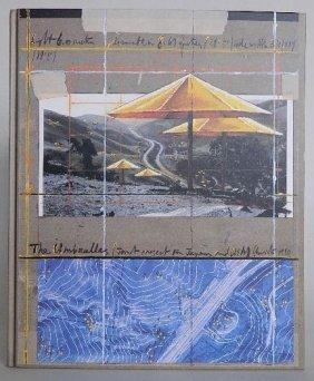 Christo- The Umbrellas- Limited Edition Book