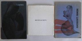 3 Henri Laurens Exhibition Catalogs