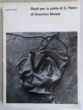 Book On Giacomo Manzu