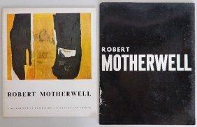 2 Robert Motherwell Exhibition Catalogs