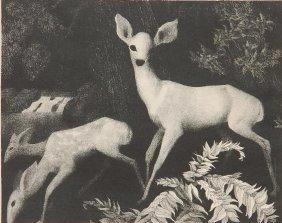 Conrad Buff Lithograph