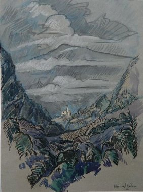 William Eastman Gouache And Watercolor