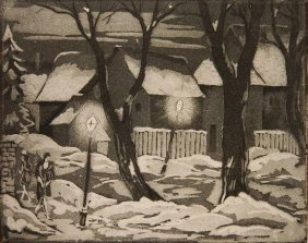 Emil Ganso Aquatint