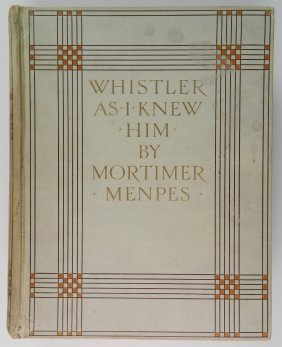 Menpes - Whistler As I Knew Him