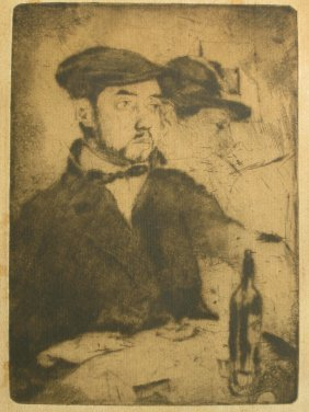Axel Fridell Etching