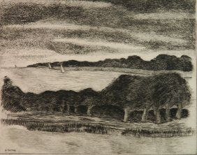George Constant Drypoint