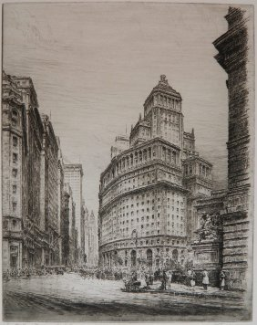 Paul Geissler Etching