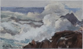 Ralph H. Hillbom Watercolor
