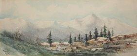 Maude Leach Watercolor
