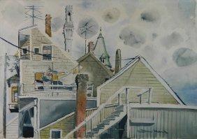 Milton Marx Watercolor