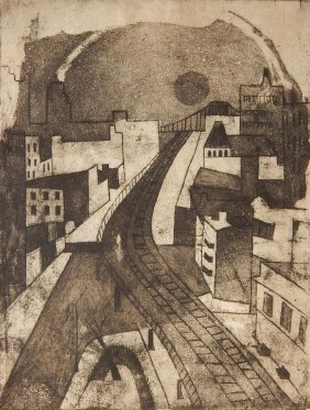 Ruth Reaman Aquatint