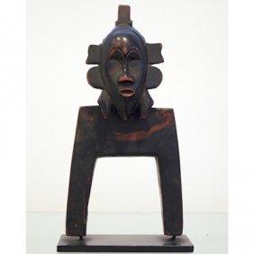 Senufo Kpelie Heddle Pulley - Circa 1920