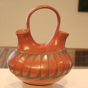 Mata Ortiz Pottery Wedding Vase