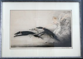 Louis Icart Speed Ll Etching