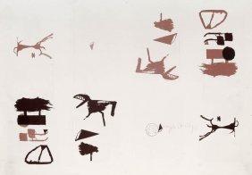 Joseph Beuys, 'Zeichen Aus Dem Braunraum', 1984
