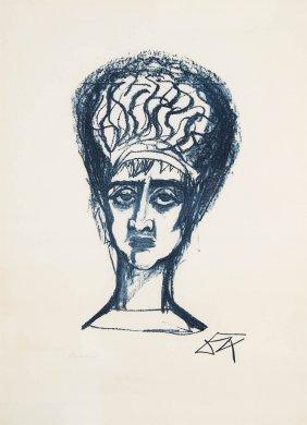 Otto Dix, R�merin, 1962