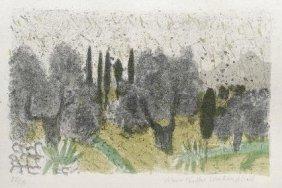 Max Peiffer-Watenphul, 'Griechische Landschaft', 1