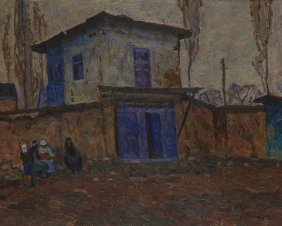 Albert Stepanowitsch Papikjan, With The Gate, Arou