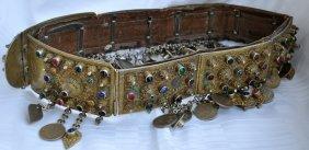 Caucasian Silver Belt For Bride 19th Century - Kavkaz