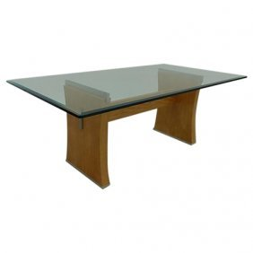 """Jay Spectre """"perimeter"""" Collection Dining Table"""
