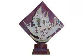 Ceramic Vase By Gilbert Portanier