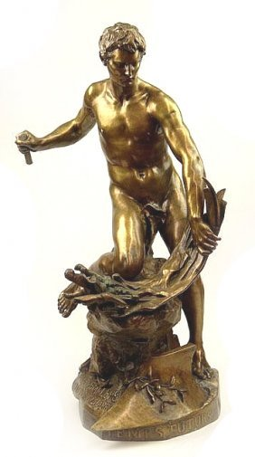 Large Jean-baptiste Belloc French Bronze
