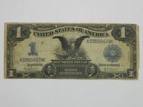 1899 One Dollar Silver Certificate