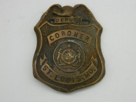 Extremely Rare Late 1800's St. Louis Missouri Deputy