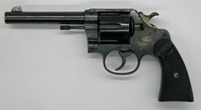 Colt New Service Single And Double Action .44-.40