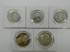 Mixed Lot Of Us Silver Coins