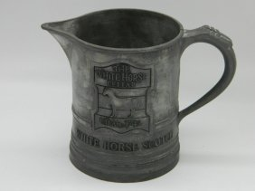 White Horse Scotch Pewter Mug