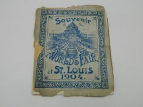 1904 St. Louis Worlds Fair Souvenir Book
