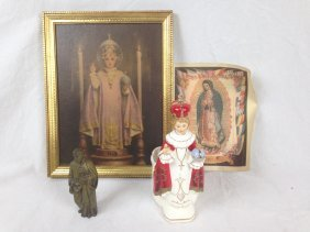 Lot Of Personal Religious Relics