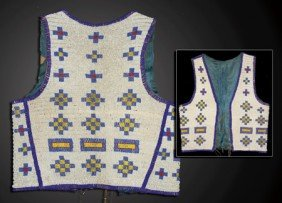 Cheyenne Beaded Vest