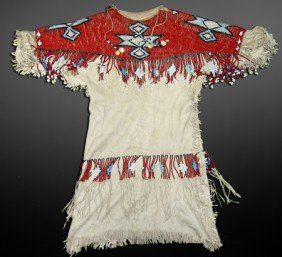 Plateau Buckskin Dress Set