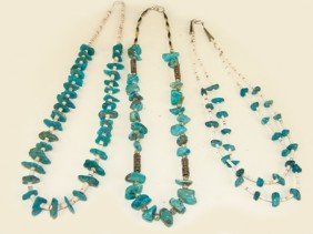 3 Navajo Necklaces