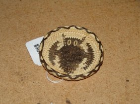 Miniature Basketry Tray