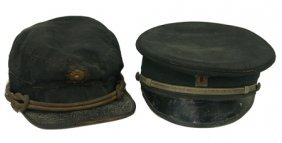 Two Antique Fraternal Hats