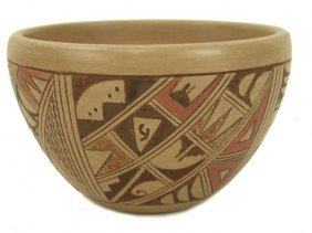 Hopi Pottery Bowl - C. Collateta