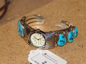 Navajo Watch Bracelet - Thomas Francisco
