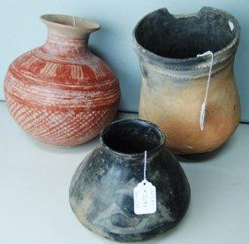 3 Large Pots